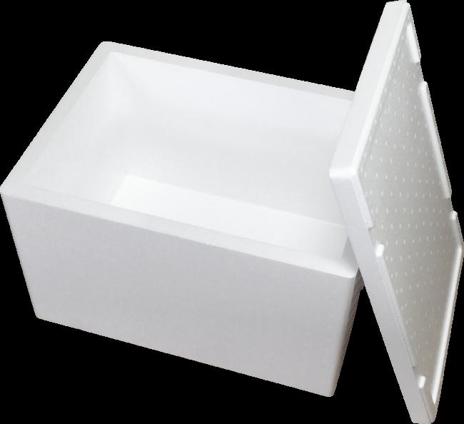 写真:発泡スチロール保冷保温容器