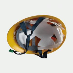 写真:発泡スチロールヘルメット用衝撃吸収材 使用例