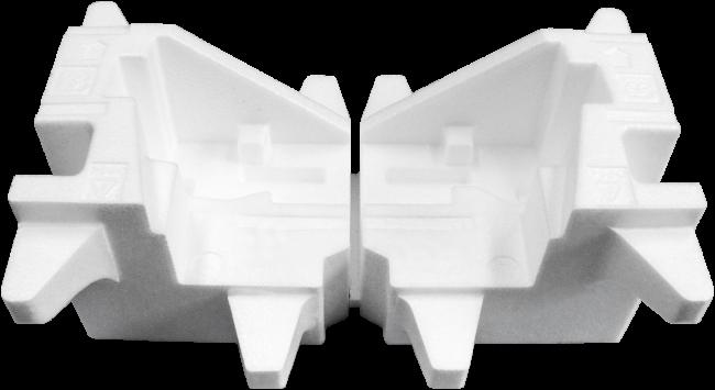 写真:発泡スチロール梱包材