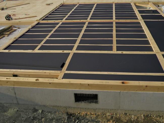 写真:エクセレント4 施工例(床)
